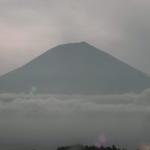 猪之頭庁舎から見える富士山ライブカメラ