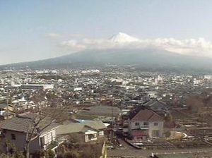 割烹旅館「たちばな」ライブカメラと雨雲レーダー/静岡県富士宮市