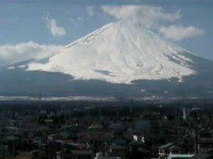 停止中:NTT西日本ライブカメラと雨雲レーダー/静岡県御殿場市
