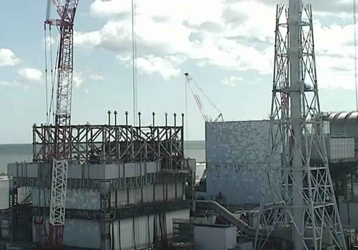 福島第一原子力発電所 ライブカメラと雨雲レーダー/福島県大熊町・双葉町