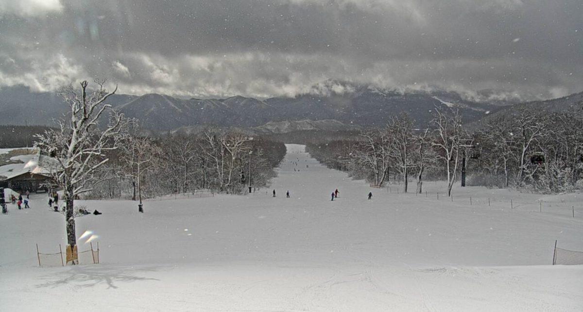 グランデコスノーリゾート ライブカメラ(スキー場)と雨雲レーダー/福島県北塩原村