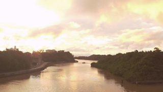 比謝川 ライブカメラ(FROMO)と雨雲レーダー/沖縄県嘉手納町