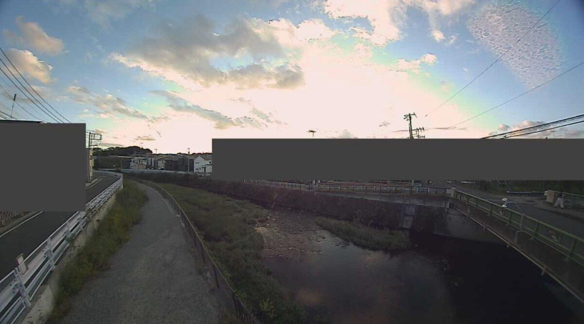 引地川・福寿橋ライブカメラと雨雲レーダー/神奈川県大和市福田