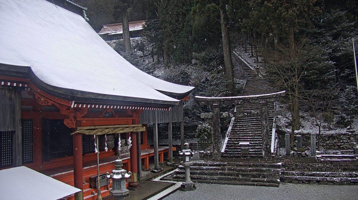 英彦山神宮 ライブカメラと雨雲レーダー/福岡県添田町