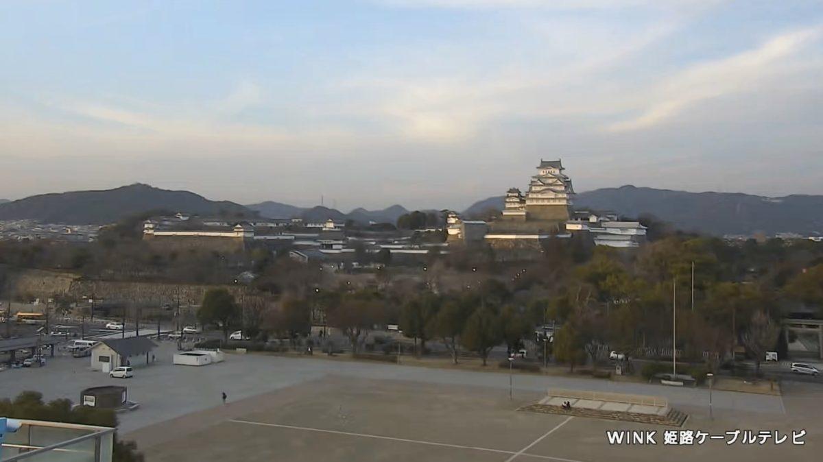 姫路城 ライブカメラと気象レーダー/兵庫県姫路市