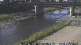 本明川 ライブカメラ(裏山橋)と雨雲レーダー/長崎県諫早市