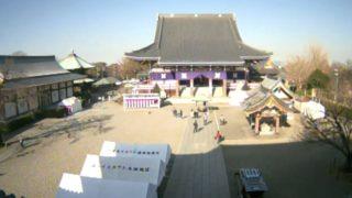 池上本門寺 ライブカメラと雨雲レーダー/東京都大田区