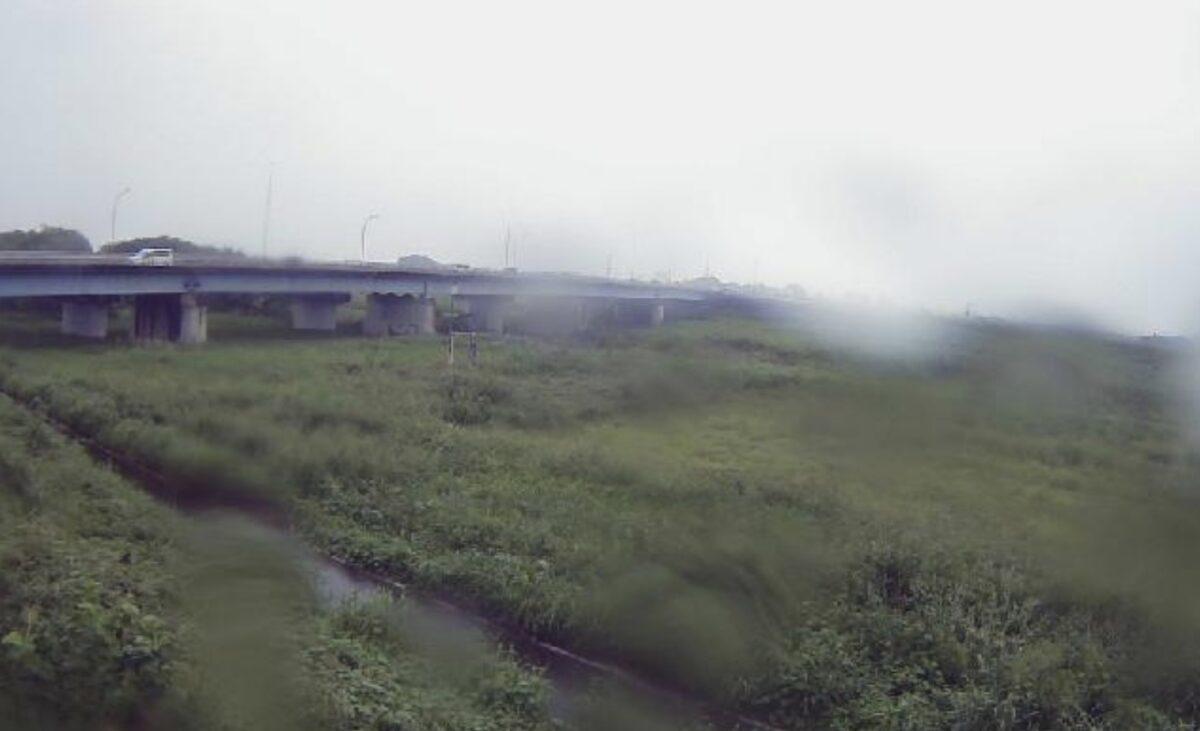 入間川・福田9.6kpライブカメラと雨雲レーダー/埼玉県川越市福田