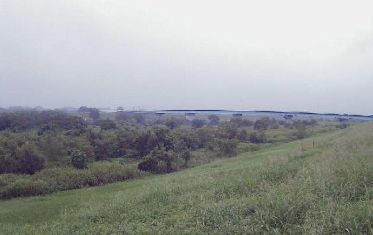 入間川・中老袋3.4kpライブカメラと雨雲レーダー/埼玉県川越市