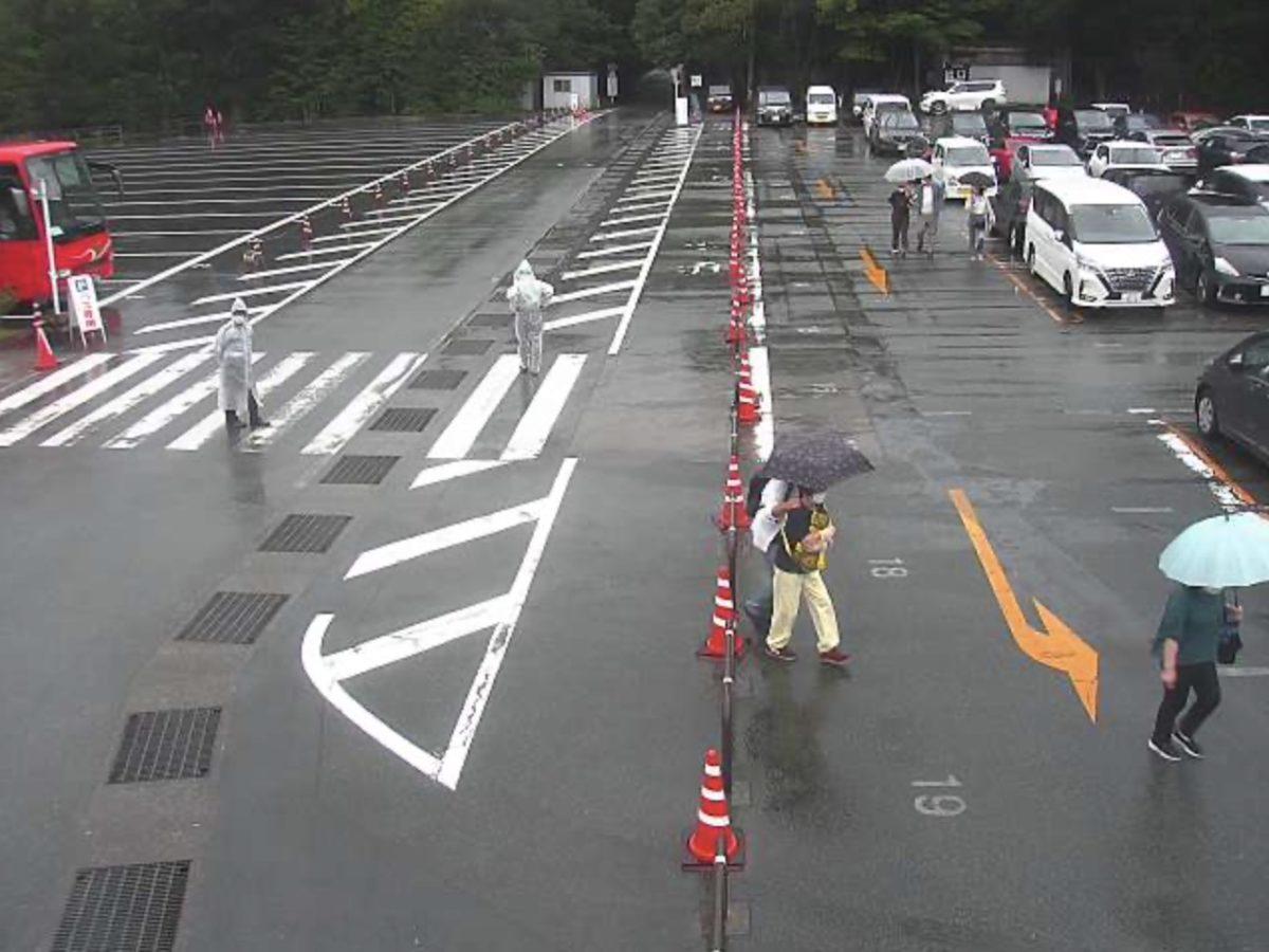 伊勢神宮の周辺道路や駐車場ライブカメラと雨雲レーダー/三重県伊勢市