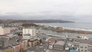 網走川・オホーツク海 ライブカメラ(STV)と気象レーダー/北海道網走市