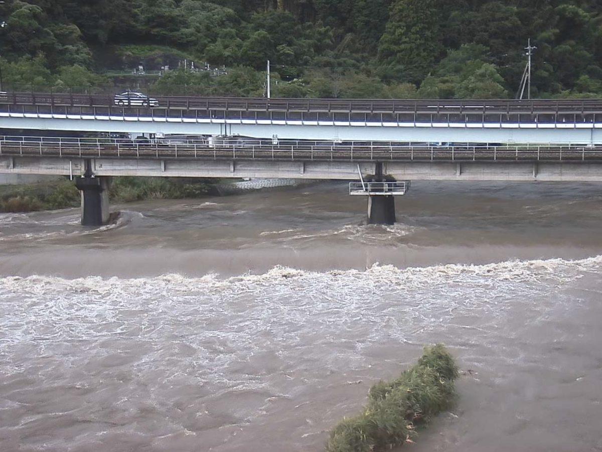 伊与木川 ライブカメラと雨雲レーダー/高知県黒潮町