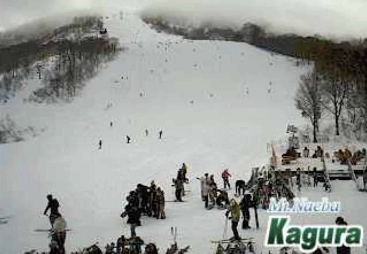 かぐらスキー場 ライブカメラと雨雲レーダー/新潟県湯沢町