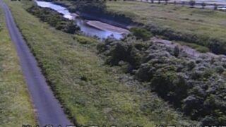 上内田川・袋田水位観測所ライブカメラと雨雲レーダー/熊本県山鹿市鹿本町