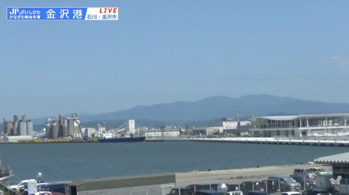金沢港 ライブカメラ(HAB)と雨雲レーダー/石川県金沢市