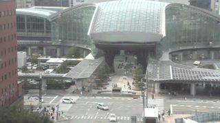金沢駅前ライブカメラと雨雲レーダー/石川県金沢市