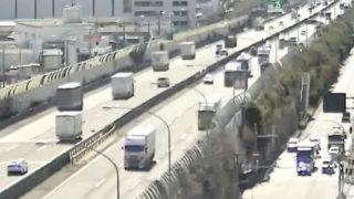 関西広域高速道路や阪神高速ライブカメラと気象レーダー