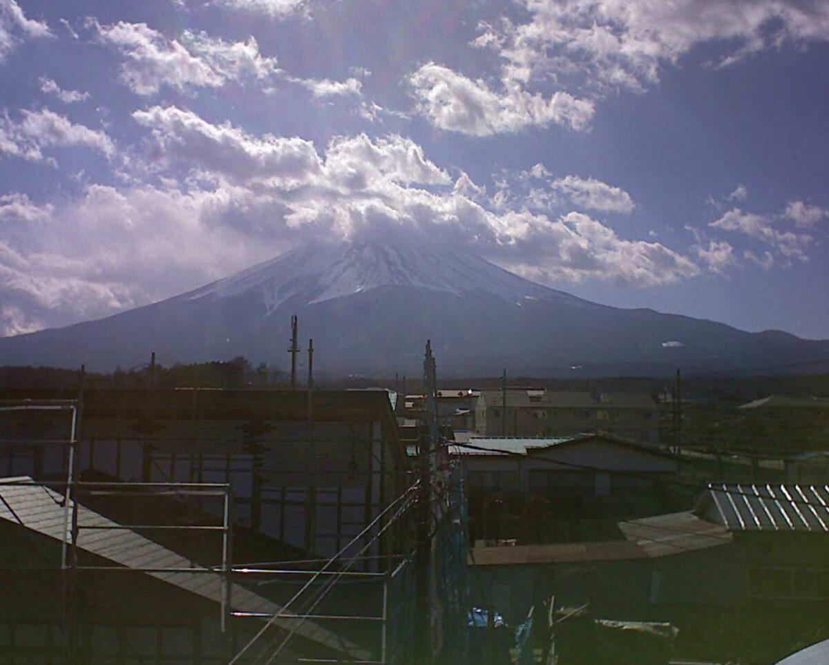 勝山 富士山ライブカメラと雨雲レーダー/山梨県富士河口湖町