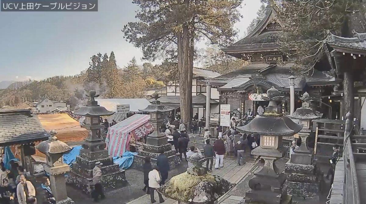 北向観音・県道82号 ライブカメラと雨雲レーダー/長野県上田市