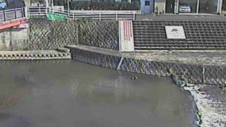 筑後川水系 巨瀬川 ライブカメラ(中央橋)と雨雲レーダー/福岡県久留米市