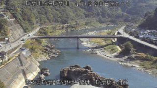球磨川 ライブカメラ(球磨村役場)と気象レーダー/熊本県球磨郡