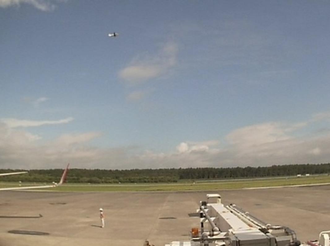 熊本空港 ライブカメラ(阿蘇くまもと空港)と雨雲レーダー/熊本県益城町