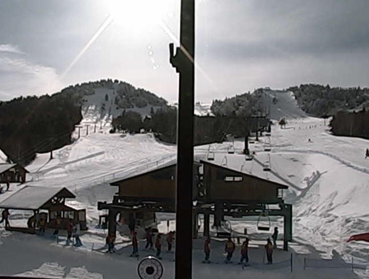 志賀高原・熊の湯スキー場 ライブカメラと雨雲レーダー/長野県山ノ内町