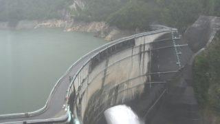 黒部ダム ライブカメラと雨雲レーダー/富山県立山町