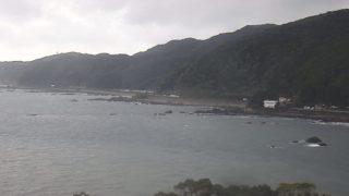 白浜海岸(佐賀公園)ライブカメラと雨雲レーダー/高知県黒潮町