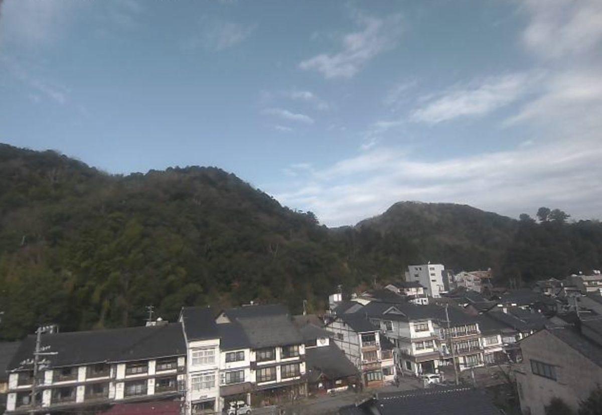 停止中:城崎温泉 ライブカメラと雨雲レーダー/兵庫県豊岡市