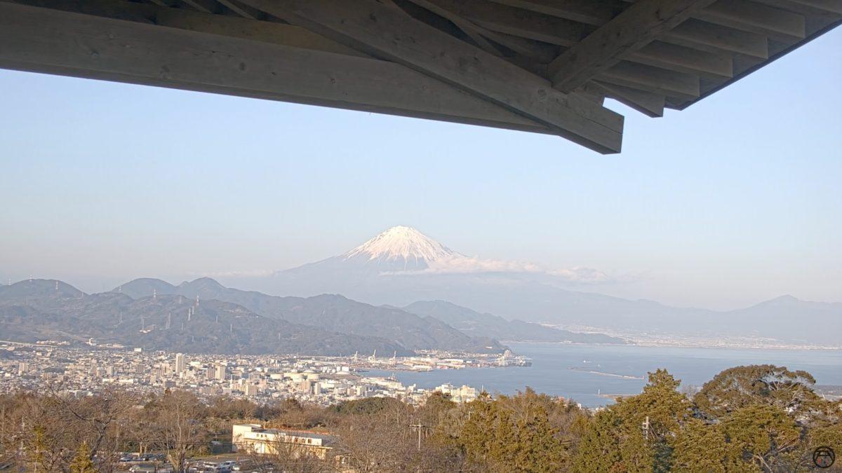 富士山・駿河湾 ライブカメラ(日本平夢テラス)と雨雲レーダー/静岡県静岡市