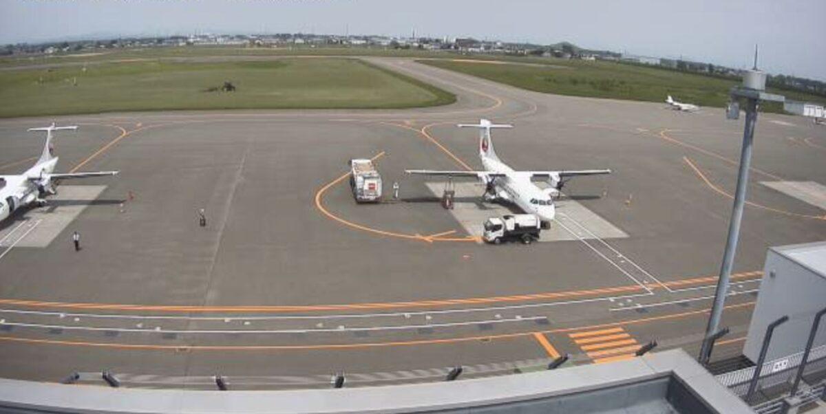 札幌丘珠空港 ライブカメラと雨雲レーダー/北海道札幌市