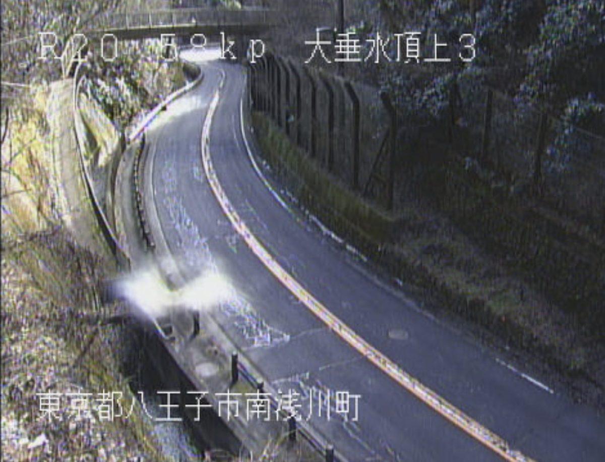 国道20号 南浅川町 ライブカメラと雨雲レーダー/東京都八王子市