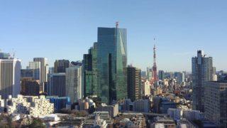 東京タワー ライブカメラ(六本木一丁目方面)と雨雲レーダー/東京都港区