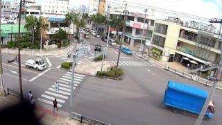 730交差点 ライブカメラ(国道390号・市役所通り)と雨雲レーダー/沖縄県石垣市