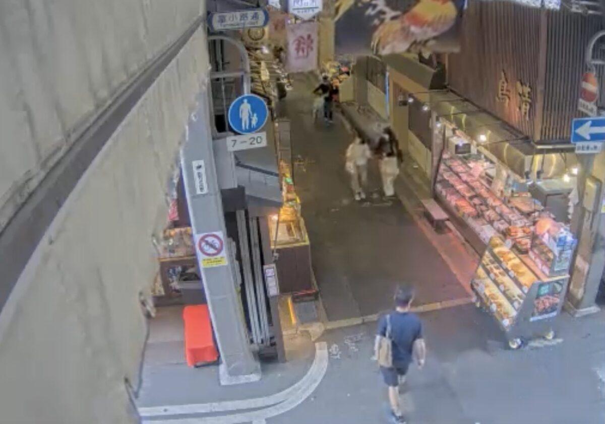 錦市場 ライブカメラと雨雲レーダー/京都府京都市中京区中魚屋町
