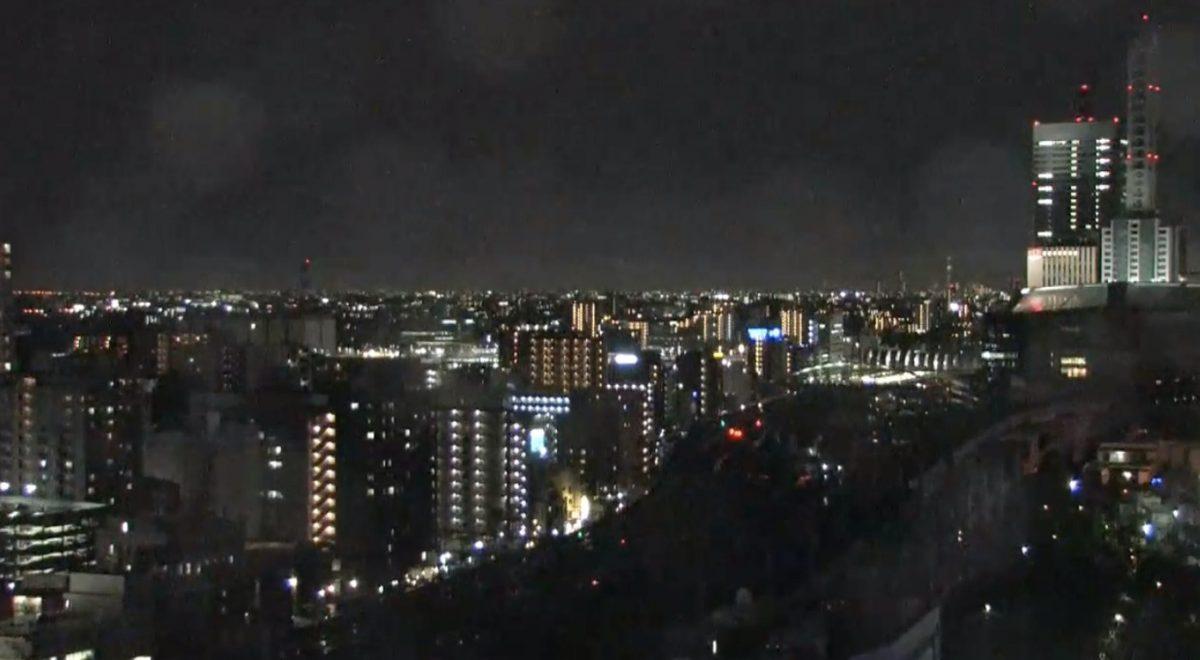 停止中:限定配信:台風3号 各地(渋谷・小田原・さいたま・千葉)のライブカメラ(テレビ朝日)と雨雲レーダー