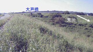 荒川・小八林 右岸68.4kpライブカメラと雨雲レーダー/埼玉県熊谷市小八林