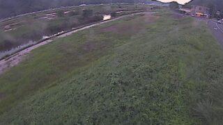芦田川・10k000左岸ライブカメラと雨雲レーダー/広島県福山市北本庄