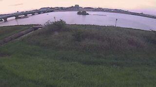 芦田川・5k400右岸ライブカメラと雨雲レーダー/広島県福山市水呑町