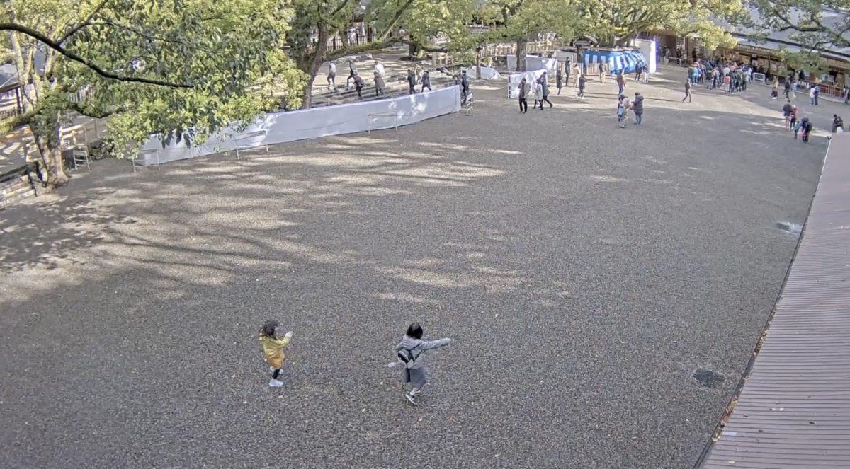 熱田神宮 ライブカメラと雨雲レーダー/愛知県名古屋市