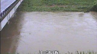 別府川 友徳橋 ライブカメラと雨雲レーダー/鹿児島県姶良市蒲生町