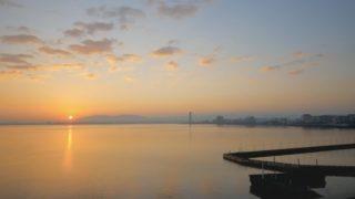 琵琶湖 ライブカメラと雨雲レーダー/滋賀県大津市