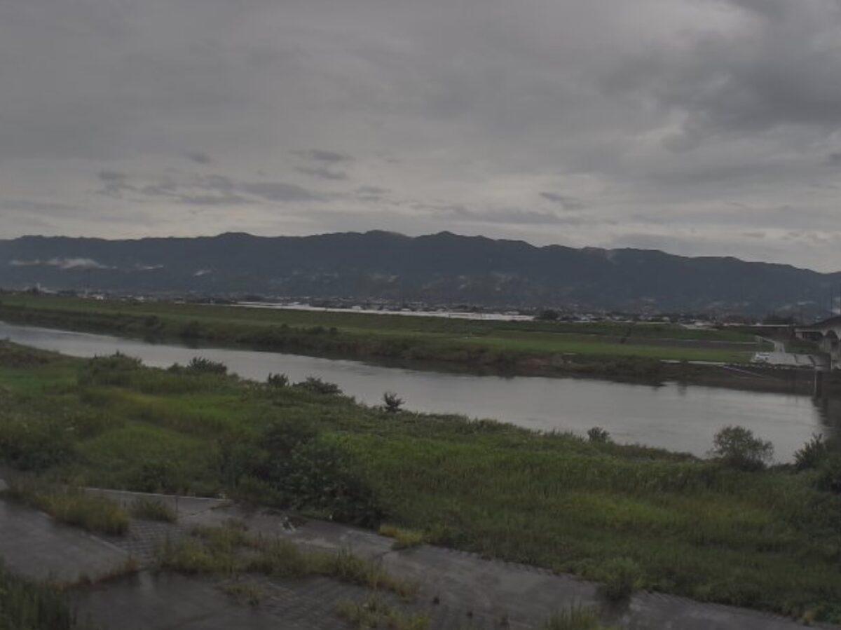 筑後川・大城橋ライブカメラと雨雲レーダー/福岡県久留米市北野町