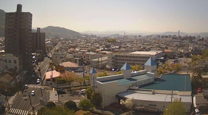 鳥取県 鳥取市街・米子駅周辺・宍道湖・出雲市街・浜田市太平洋側ライブカメラ(5ヶ所)(NKT)と雨雲レーダー