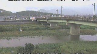 土器川 ライブカメラと雨雲レーダー/香川県丸亀市