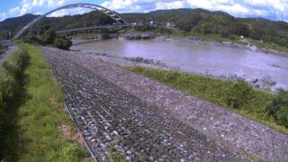 富士川・逢来橋ライブカメラと雨雲レーダー/静岡県富士市北松野
