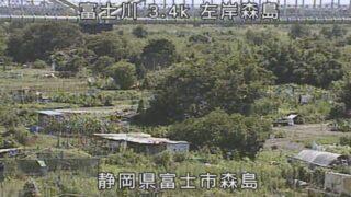 富士川・森島ライブカメラと雨雲レーダー/静岡県富士市松岡
