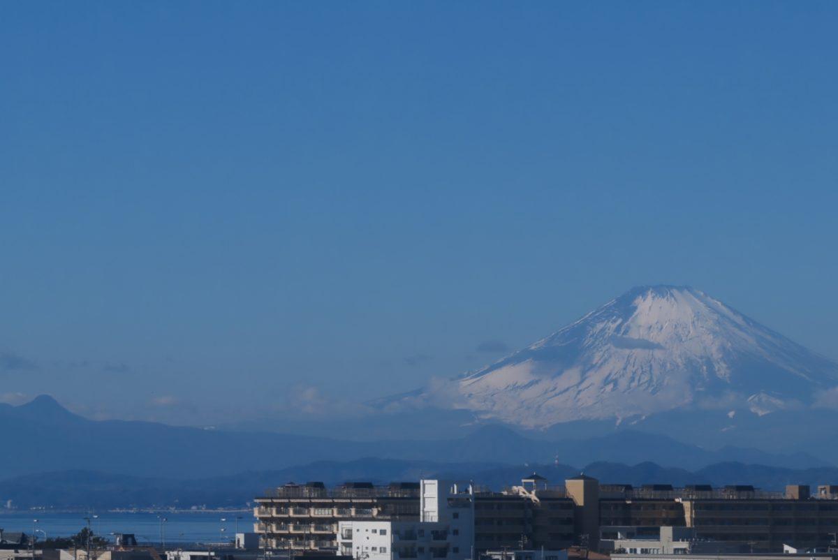 富士山 ライブカメラ(湘南江の島駅)と雨雲レーダー/神奈川県藤沢市