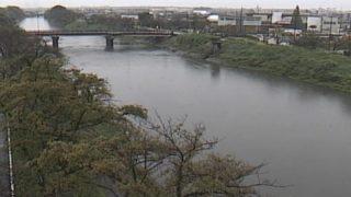 五条川 ライブカメラ(春日)と雨雲レーダー/愛知県清須市